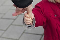 child parent hand