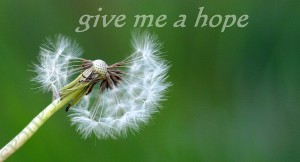 Give me a hope, M.G. Kafkas