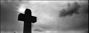 Original Martyrs Cross by Jon Lewis