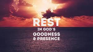 rest in gods goodness